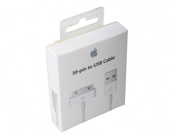 Cabo Apple de 30 pinos USB para Apple Iphone 4/4S ORIGINAL