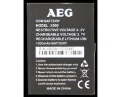 Bateria AEG X500 Original